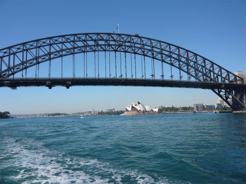 The Iconic Sydney Opera House and Sydney Harbour Bridge